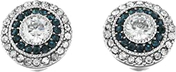 LAUREN Ralph Lauren - Vintage Crystal Stud Earrings