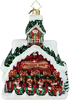 Christopher Radko Goodnight Donner, Goodnight Blitzen! Christmas Ornament