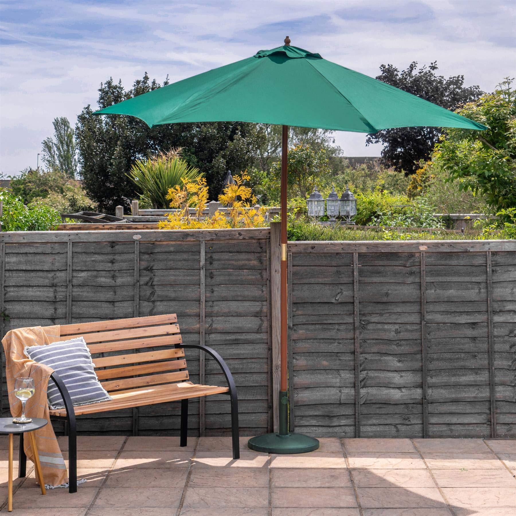 Base para sombrilla de jardín - para mástiles de 38 a 48 mm ...