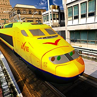 USA Bullet Train Drive Simulator 3D