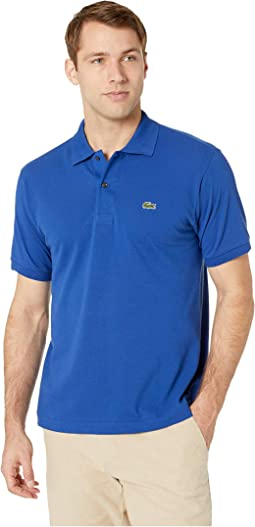 Short Sleeve Classic Pique Polo Shirt