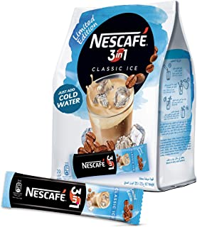 Nescafe 3in1 Classic Ice Instant Coffee Mix Stick 20g (20 Sticks)