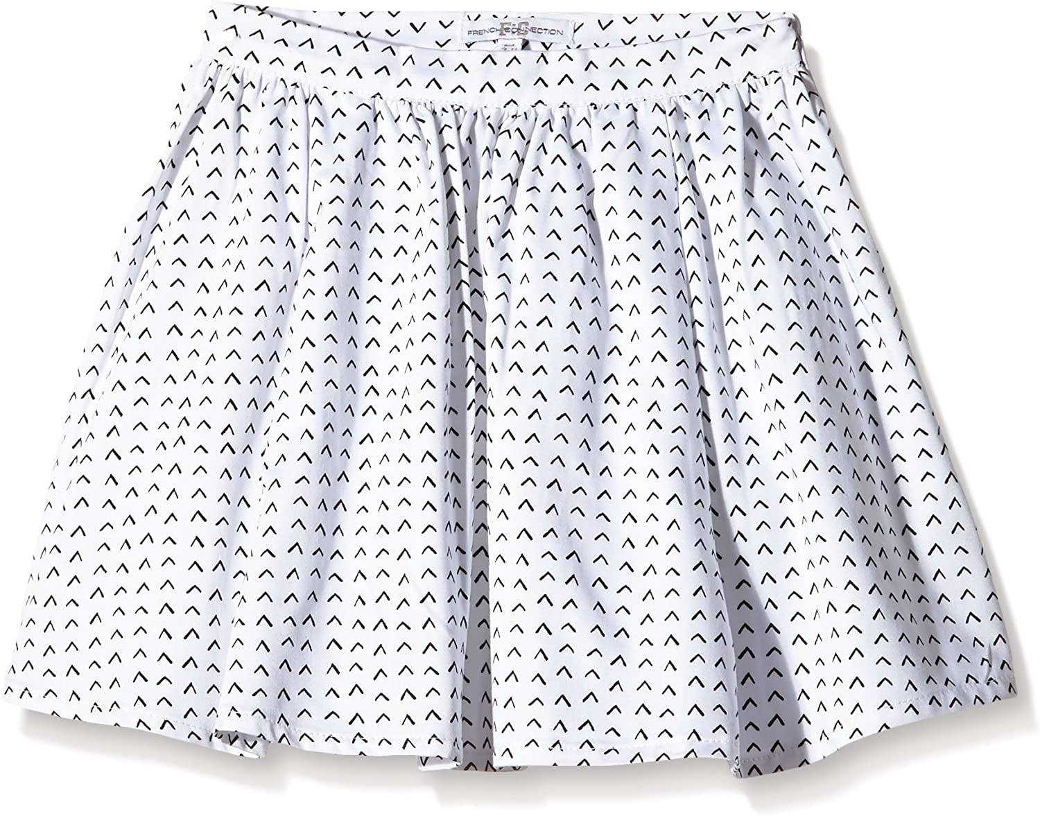 Kid Nation Girls Soft Cotton Ruffle Scooter Skirt with Under Pants 4-12 Years