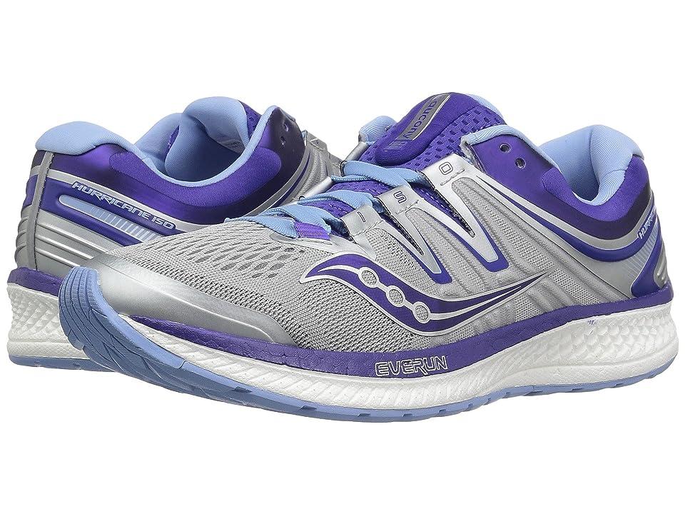 Saucony Hurricane ISO 4 (Grey/Blue/Purple) Women