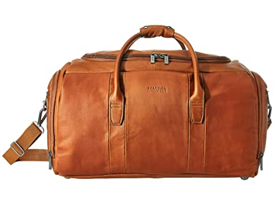 Kenneth Cole Reaction Colombian Leather Duffel (Cognac) Luggage