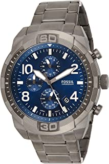 Fossil FS5711 Bronson Men's Watch Stainless Steel 5 Bar Analogue Chrono Date Grey