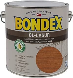 Bondex Öl-Lasur 2,50l teak 391327