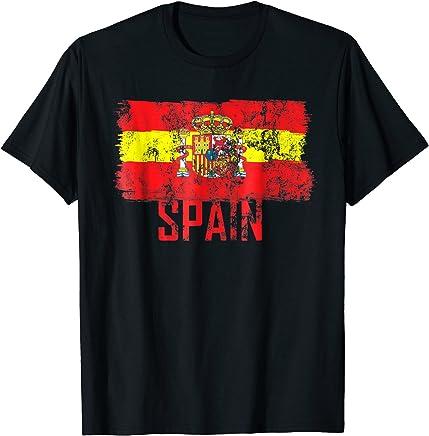 Spain Jersey Shirt Soccer Flag Espana Men Women Kid
