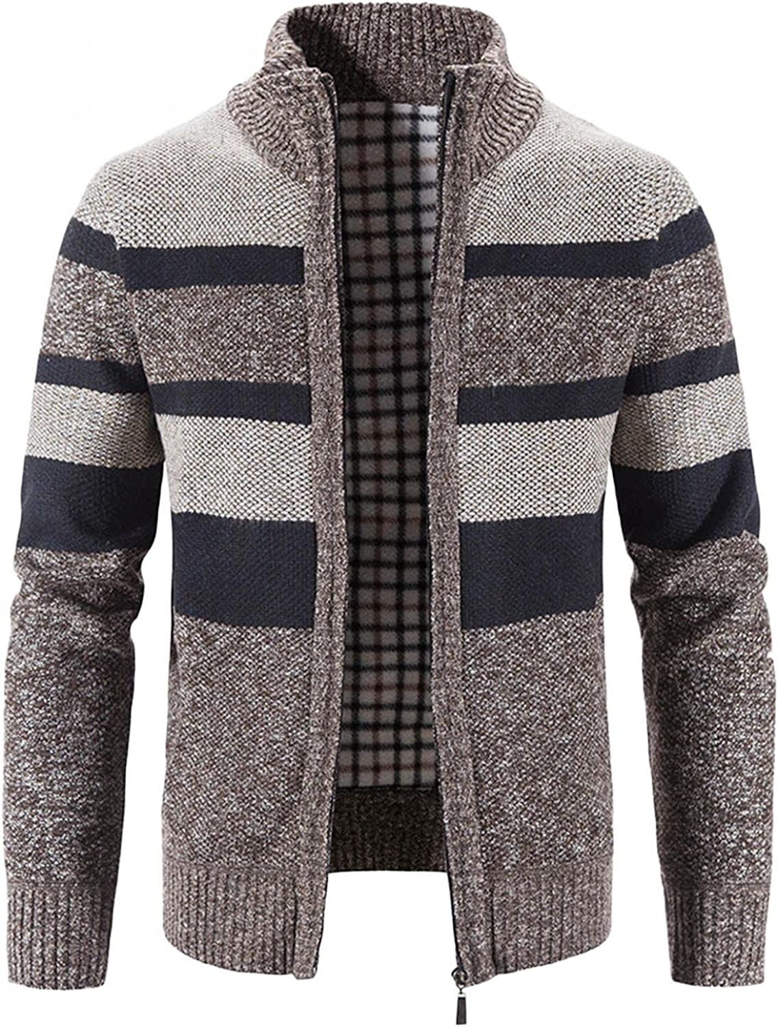 Mens Fixed price for sale Sweaters Jacket Casual Full Zip Fit New life Knitted Slim C Cardigan