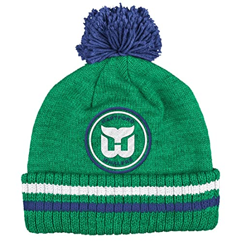 5ee2540f057 NHL Mitchell and Ness Vintage Big Man Hi Five Knit Hat with Pom