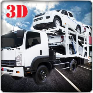 Heavy Trailer Cargo Truck Transporter Simulator 3D: Transport Furious & Fast Racing Cars In Offroad Driving Parkig Simulation Games Free For Kids 2018