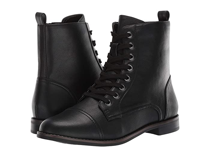 Steampunk Boots & Shoes, Heels & Flats Aerosoles Prism Black Womens Lace-up Boots $59.95 AT vintagedancer.com