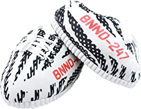 SoleSlip ZBRA Sneaker Slippers | Men and Women | Comfy and Cozy | Perfect for Lounging | Pure Polyester | One Size Fits All | Trendy Design | White and Black | Yeezy Slippers 2019