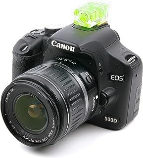 DURAGADGET Nivel Profesional Amarillo para cámara Canon EOS 4000D Canon EOS 400D / Digital Rebel Xti Canon EOS 450D / Rebel Xsi Canon EOS 500D / Rebel T1i Canon EOS 50D