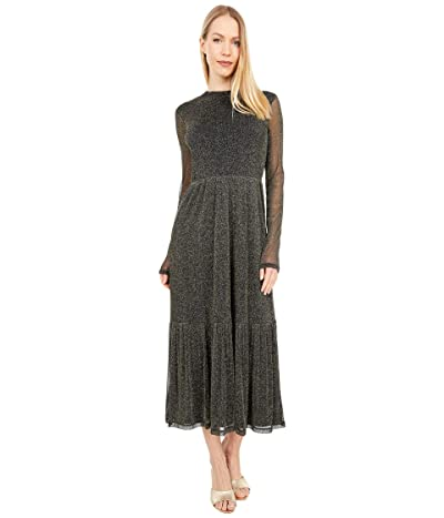Lilly Pulitzer Maeva Midi Dress (Onyx) Women