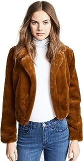 Blank Denim Women's Cropped Faux Fur Jacket