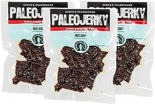 Steve's PaleoGoods, PaleoJerky Original Beef Jerky, 2 oz (Pack of 3)