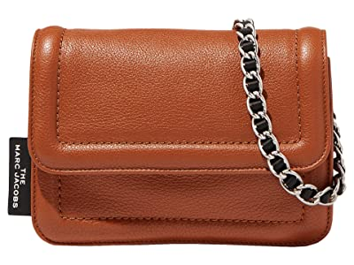 Marc Jacobs The Mini Cushion Bag (Brown) Handbags