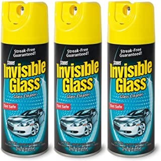 Invisible Glass 91163-3PK 15-Ounce Cleaner for Auto and Home for a Streak-Free Shine, Deep-Cleaning Foaming Action, Safe f...