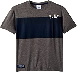 Charcoal Grey Surf Tee (Toddler/Little Kids/Big Kids)