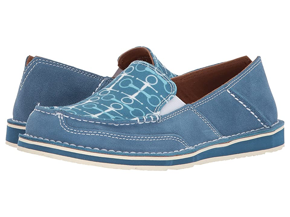 Ariat English Cruiser (Teal/Snaffle Bits) Women