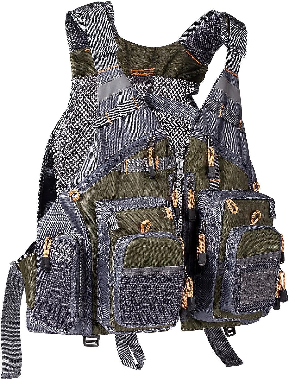 Bassdash Fly Fishing Vest Mesh Vest Free Size