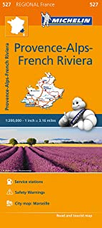 michelin map provence