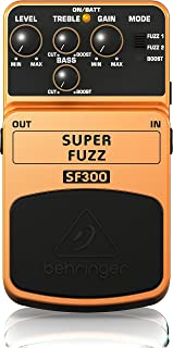 Behringer Super Fuzz SF300 3-Mode Fuzz Distortion Instrument Effects Pedal