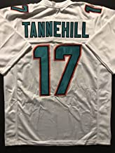 Unsigned Ryan Tannehill Miami White Custom Stitched Football Jersey Size XL New No Brands/Logos