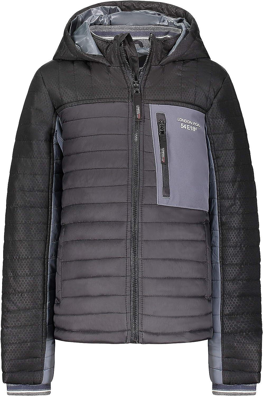 LONDON FOG Boys' Active Jacket Sacramento Mall Puffer Product Coat Winter