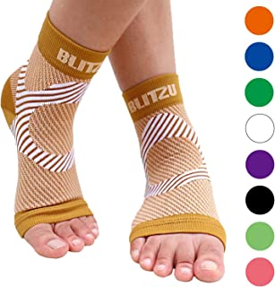 Plantar Fasciitis Socks with Arch Support, Foot Care Compression Sleeve, Eases Swelling & Heel Spurs, Ankle Brace Support, Relieve Pain Fast