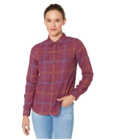 Toad&Co Re-Form Flannel Shirt (Port) Women