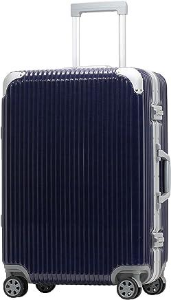 [PROEVO/プロエボ] スーツケース フレームキャリー 受託手荷物 M L LL 静音 ダブルキャスター 8輪 大容量 軽量 アルミフレーム TSAロック キャリーケース キャリーバッグ