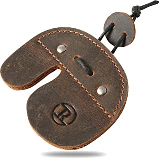 Sponsored Ad - Ringsun Archery Finger Tab, Leather Archery Tab, Finger Tab for Shooting Bow Arrow Accessories,RS02