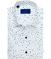 Frog and Dot Print Short Sleeve Sport Shirt