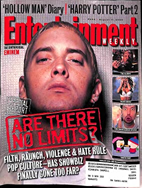 Entertainment Weekly#554 ~ August 11, 2000 ~ Eminem/ Are There No Limits