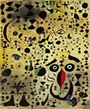 Joan Miro Giclee Canvas Print Paintings Poster Reproduction (The Beautiful Bird Revealing The Unknown to a Pair of Lovers)