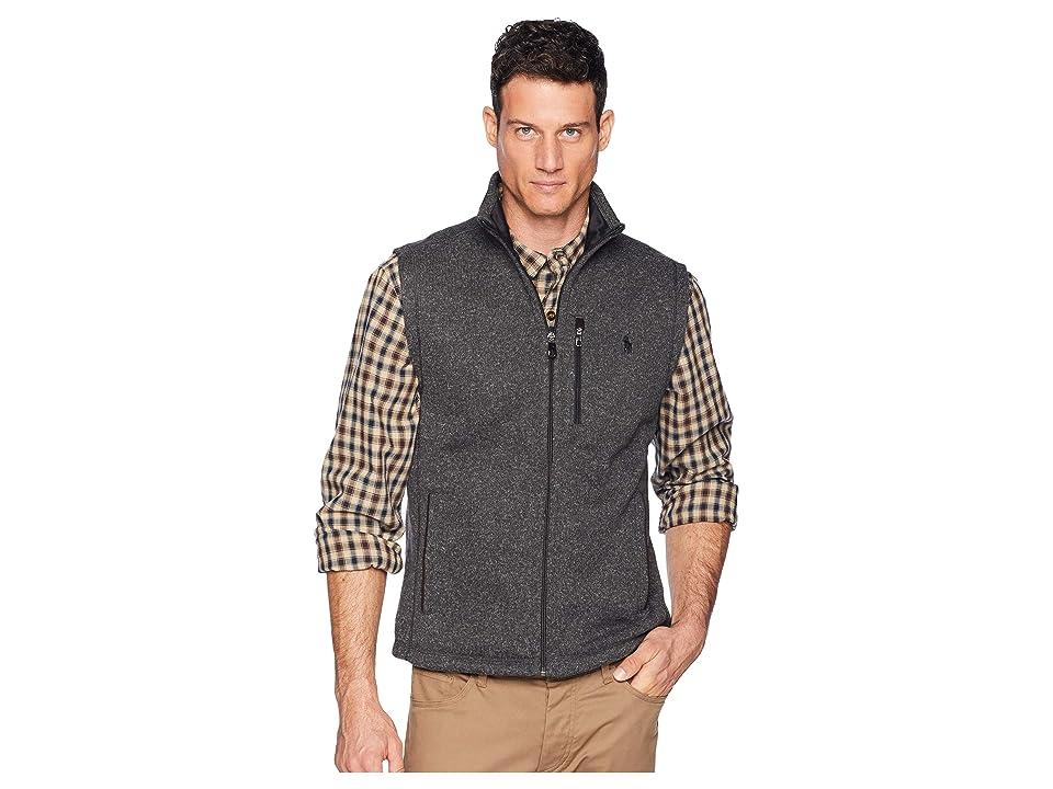 Polo Ralph Lauren Sweater Fleece Vest (Windsor Heather) Men