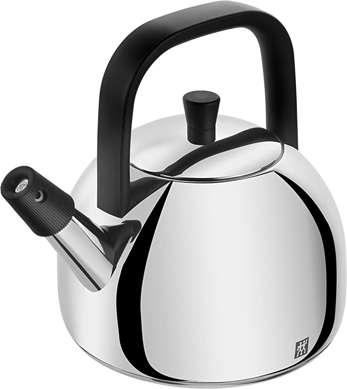 Zwilling Whistle Kettle 1 6 Litre Stainless Steel Silver 20 6 X 20 8 X 24 5 Cm