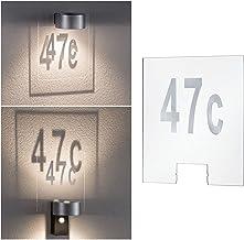 Paulmann 796.74 Outdoor House Cone huisnummer kunststof 79674 buitenverlichting accessoires huisnummerlamp Housenumber