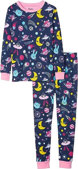 0b27c76a4 Hatley Kids Counting Sheep Short Sleeve Mini Pajama Set (Infant) at 6pm