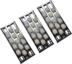 Cookingstar Heat Plate Replacement for Select Turbo Gas Grill Models, 3-Pack Stainless Steel Heat Plate,Heat Tent,Burner Cover, Vaporizor Bar and Flavorizer Bar(16.5 x 6.5 inch)