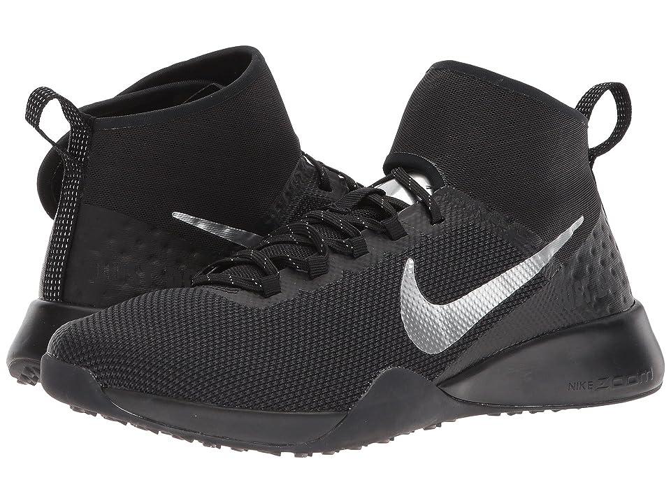 Nike Air Zoom Strong 2 Selfie (Black/Chrome) Women