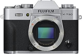 Fujifilm X Series X-T20 Mirrorless Digital Camera (Silver (Body Only))