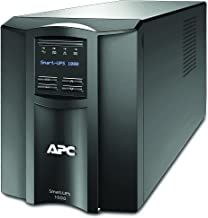 APC 1000VA Smart-UPS with SmartConnect, Pure Sinewave UPS Battery Backup, Line Interactive, 120V Uninterruptible Power Supply (SMT1000C)