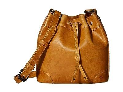 Frye Melissa Drawstring Bucket Crossbody (Sunflower) Handbags