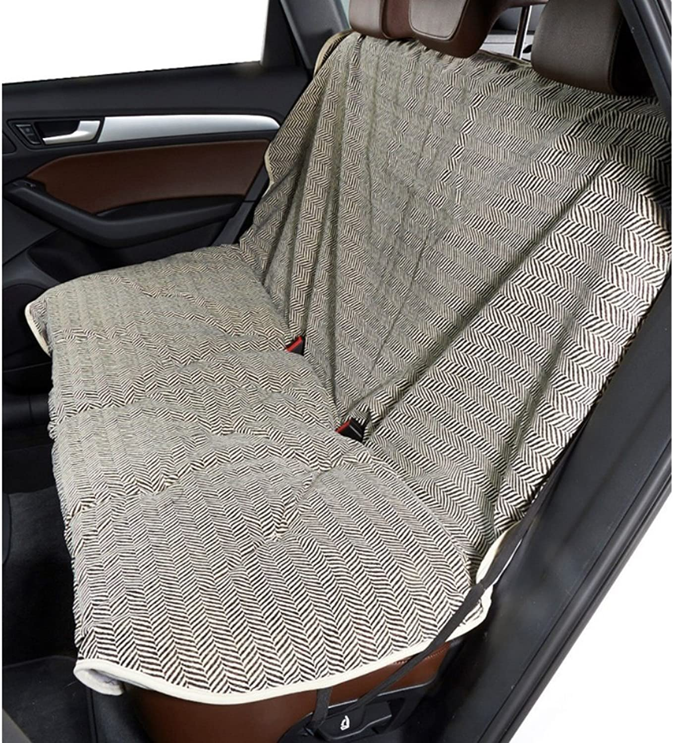 Bowsers Diamond Series Microvelvet Luxury Back Seat Cover
