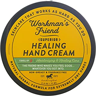 Workman's Friend Superior Healing Hand Cream, 2.5 oz