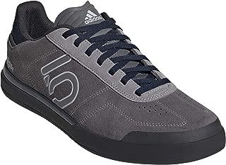 Five Ten Men's Sleuth DLX TLD Mountain Bike Shoe, Size 12, (Grey Three, Clear Grey, Col Navy)
