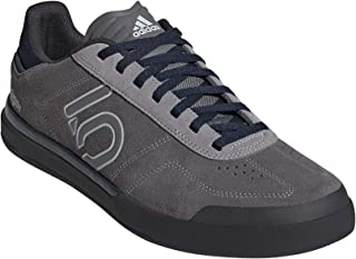 Five Ten Men's Sleuth DLX TLD Mountain Bike Shoe, Size 8, (Grey Three, Clear Grey, Col Navy)